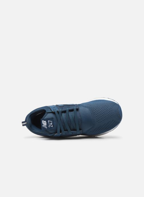 Trainers New Balance WRL247 Blue view from the left