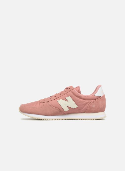 Baskets New Balance WL220 Rose vue face