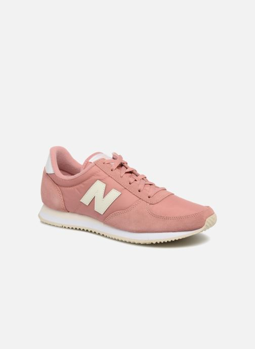 Baskets New Balance WL220 Rose vue détail/paire