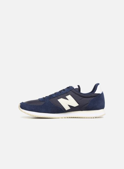 Trainers New Balance WL220 Blue front view