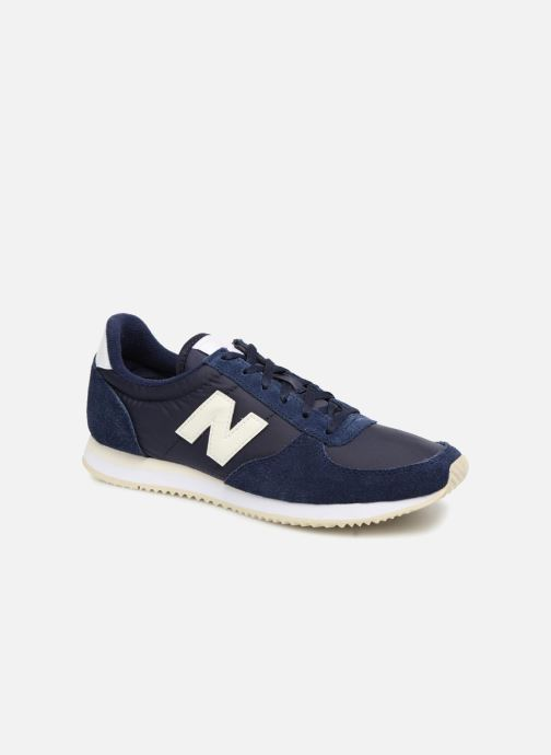 Trainers New Balance WL220 Blue detailed view/ Pair view
