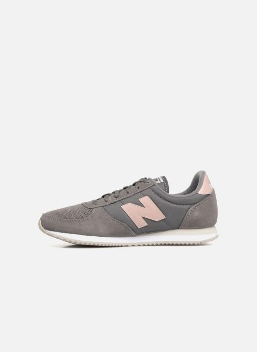 Baskets New Balance WL220 Gris vue face