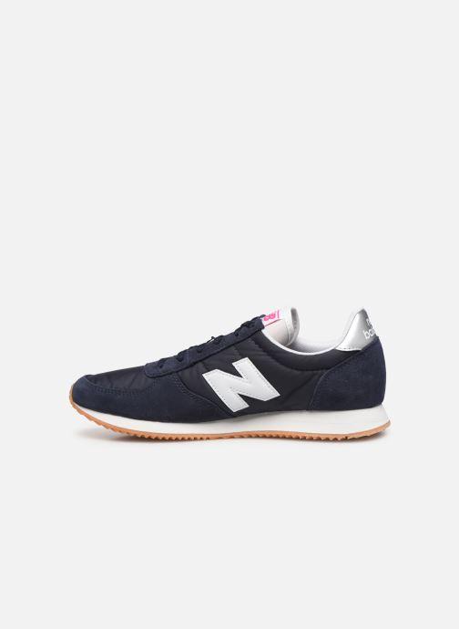 Sneakers New Balance WL220 Blauw voorkant