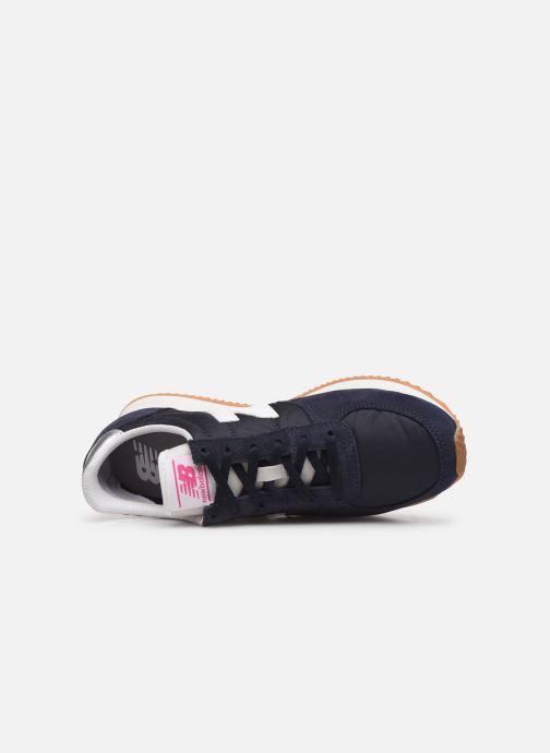 Sneakers New Balance WL220 Blauw links