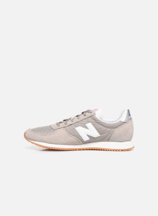 Sneaker New Balance WL220 grau ansicht von vorne