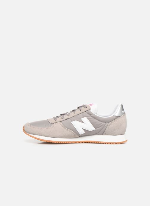 Sneakers New Balance WL220 Grijs voorkant