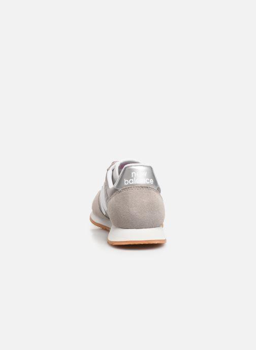 Sneaker New Balance WL220 grau ansicht von rechts