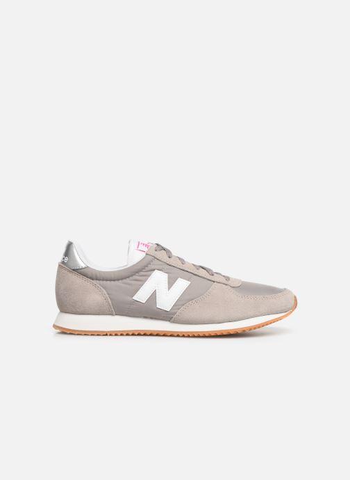 Sneaker New Balance WL220 grau ansicht von hinten
