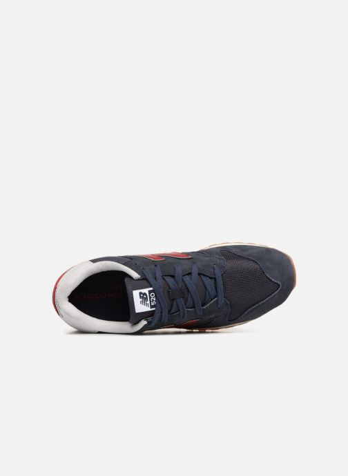 Baskets New Balance U520 Gris vue gauche