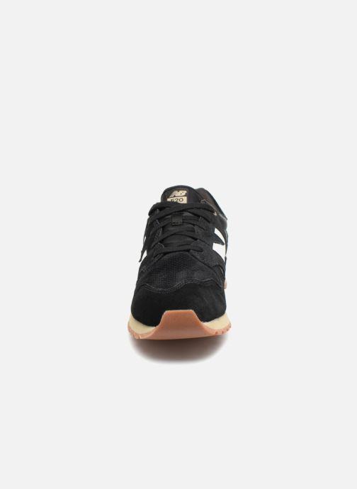 Sneaker New Balance U520 schwarz schuhe getragen
