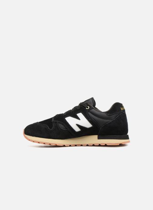 Sneaker New Balance U520 schwarz ansicht von vorne