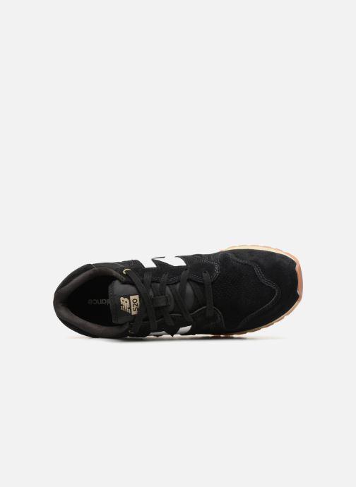 Sneaker New Balance U520 schwarz ansicht von links