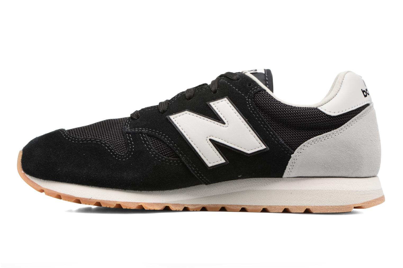 Sneakers New Balance U520 Zwart voorkant