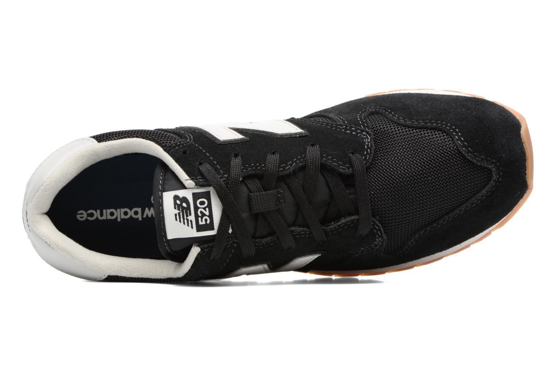 Sneakers New Balance U520 Zwart links