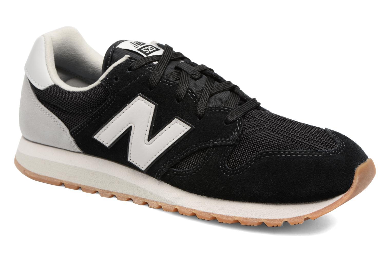 Sneakers New Balance U520 Zwart detail