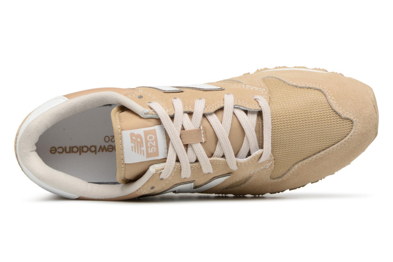 Sneakers New Balance U520 Beige links