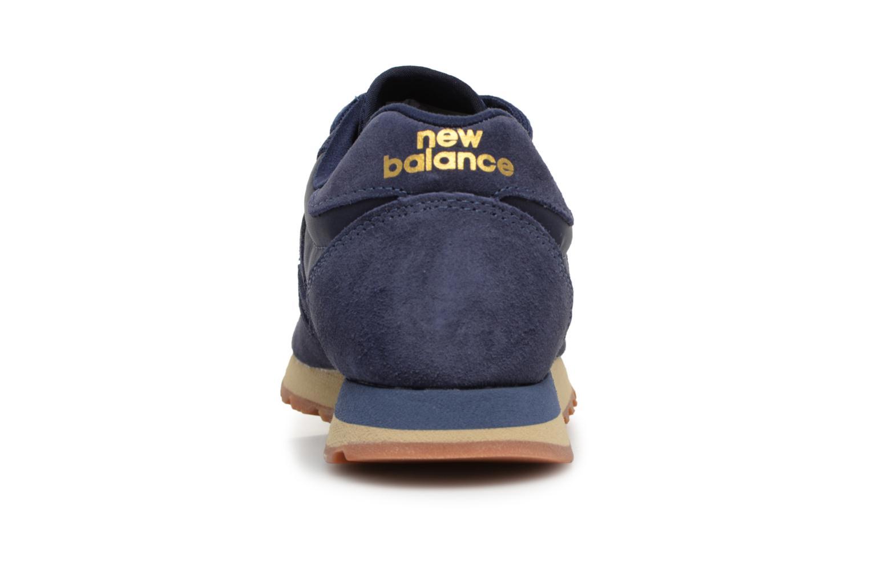 Baskets New Balance U520 Bleu vue droite