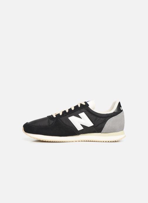 Sneakers New Balance U220 Zwart voorkant