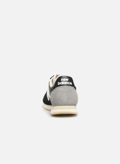 Sneaker New Balance U220 schwarz ansicht von rechts