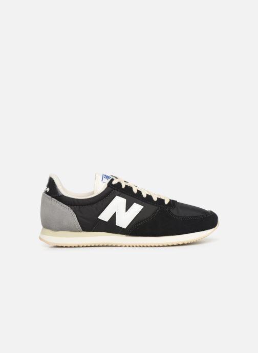 Sneaker New Balance U220 schwarz ansicht von hinten