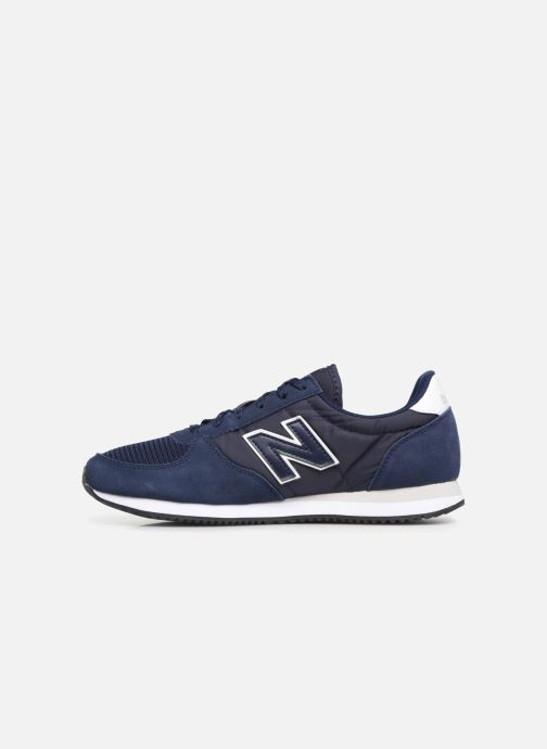 Baskets New Balance U220 Bleu vue face