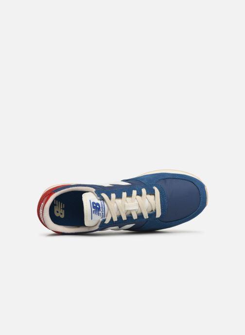 Baskets New Balance U220 Bleu vue gauche