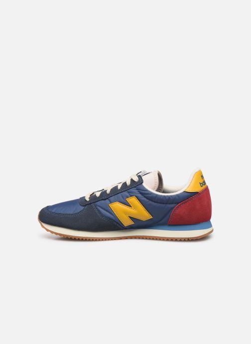 Sneakers New Balance U220 Blauw voorkant