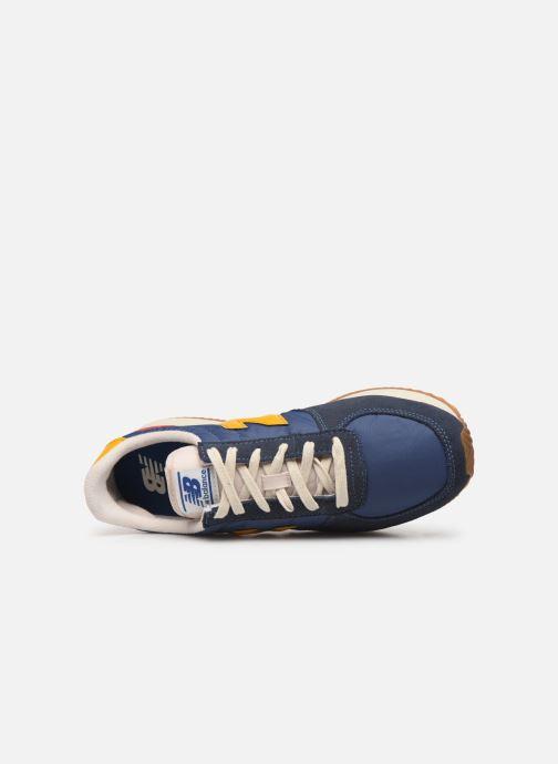 Sneaker New Balance U220 blau ansicht von links