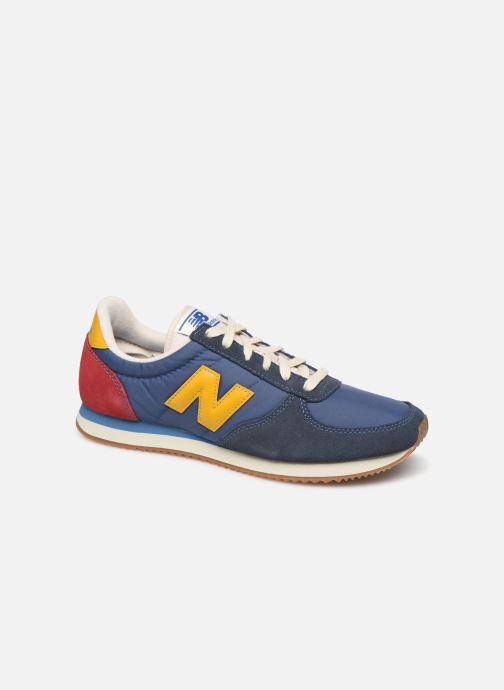Sneakers New Balance U220 Blå detaljeret billede af skoene