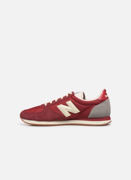 Sneakers New Balance U220 Rood voorkant