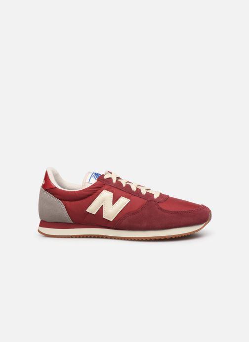 Sneakers New Balance U220 Rood achterkant