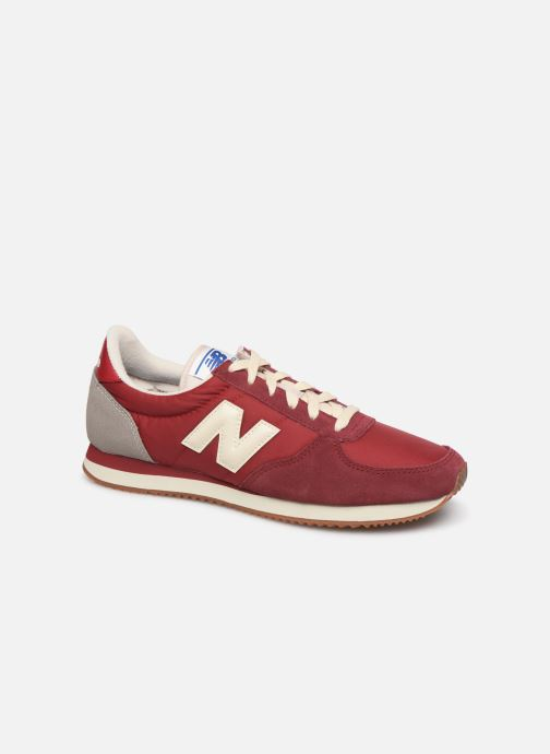 Trainers New Balance U220 Red detailed view/ Pair view