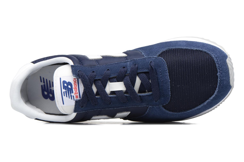 Sneakers New Balance U220 Azzurro immagine sinistra