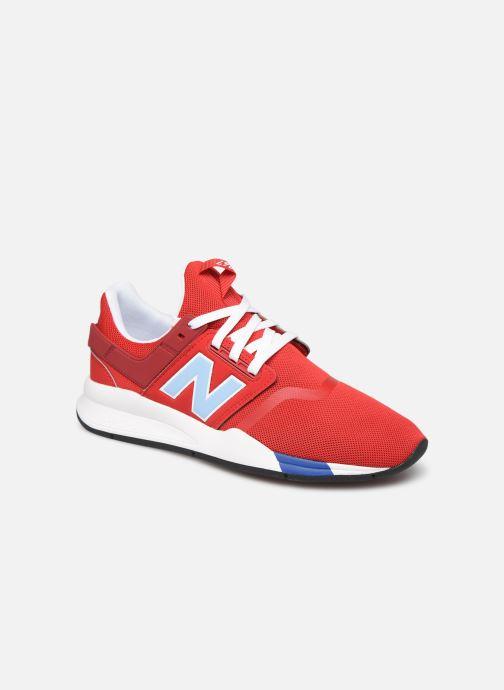 Baskets New Balance MRL247 Rouge vue détail/paire