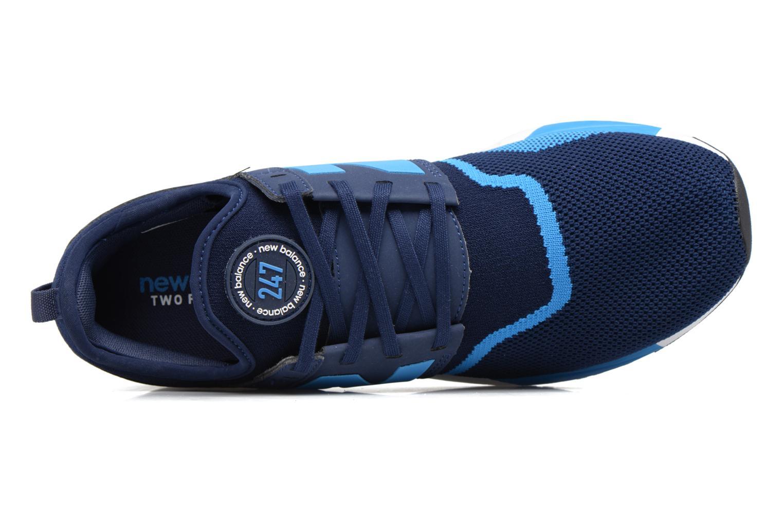 Baskets New Balance MRL247 Bleu vue gauche