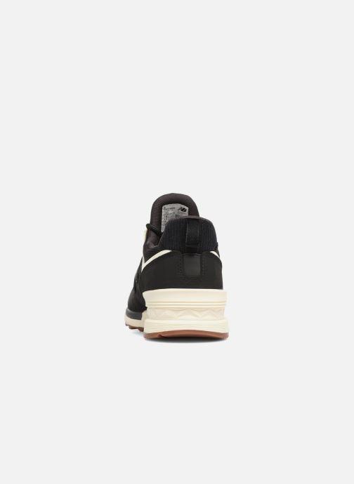 Baskets New Balance WS574 Noir vue droite