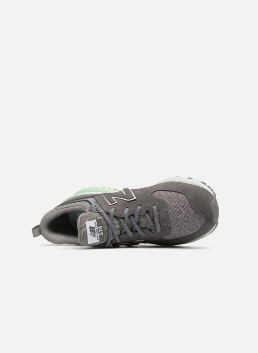 Baskets New Balance WS574 Gris vue gauche