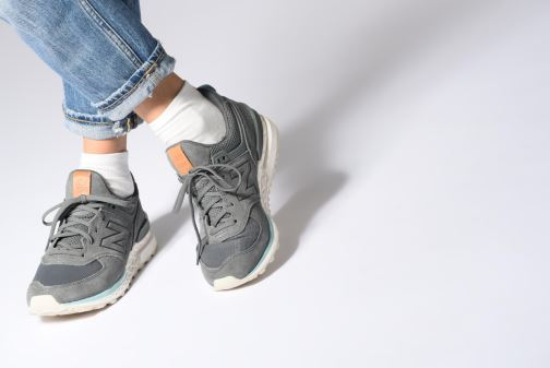 Trainers New Balance WS574 Grey view from underneath / model view