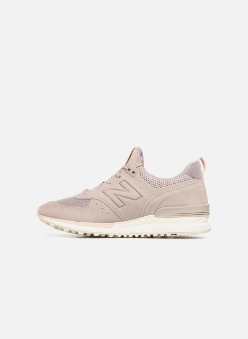 Sneakers New Balance WS574 Grigio immagine frontale