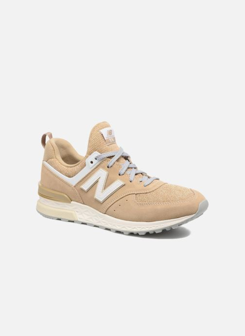 New Balance MS574 (Beige) Baskets chez Sarenza (303524)