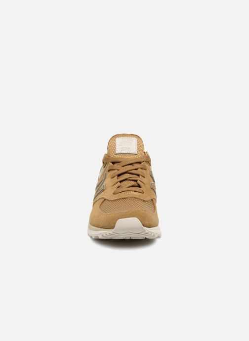 Trainers New Balance MS574 Brown model view
