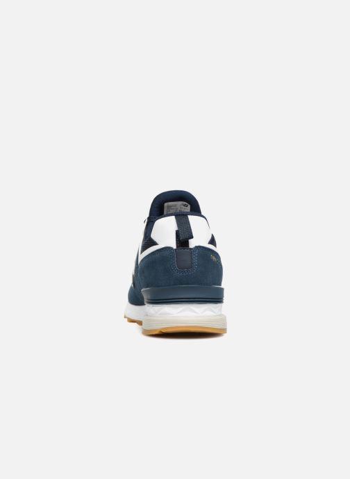 Baskets New Balance MS574 Bleu vue droite