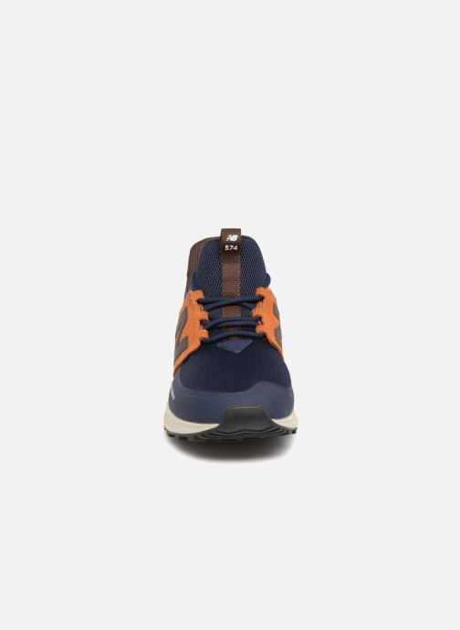 Trainers New Balance MS574 Blue model view
