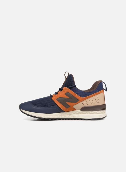 Trainers New Balance MS574 Blue front view