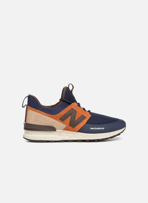 Trainers New Balance MS574 Blue back view