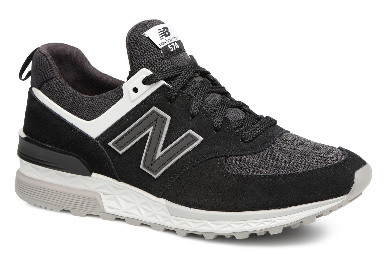 Sneakers New Balance MS574 Nero vedi dettaglio/paio