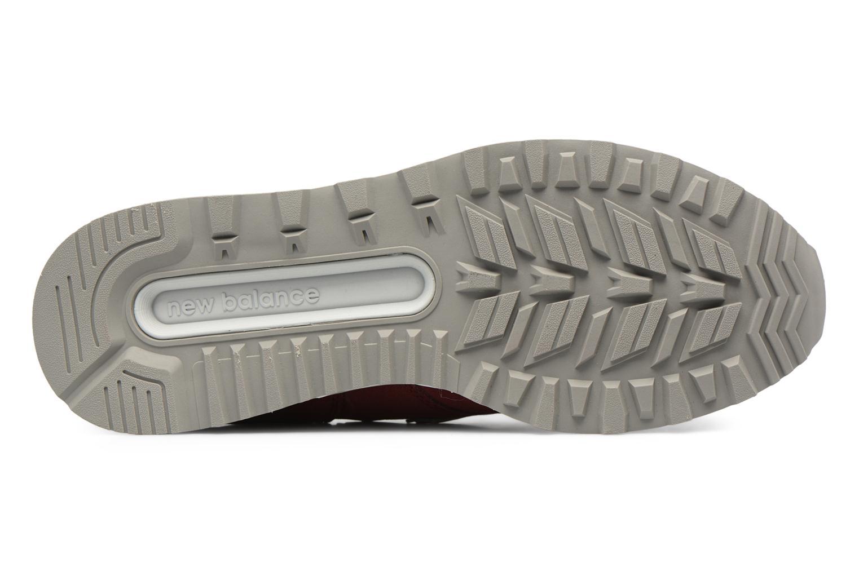 Sneakers New Balance MS574 Rosso immagine dall'alto