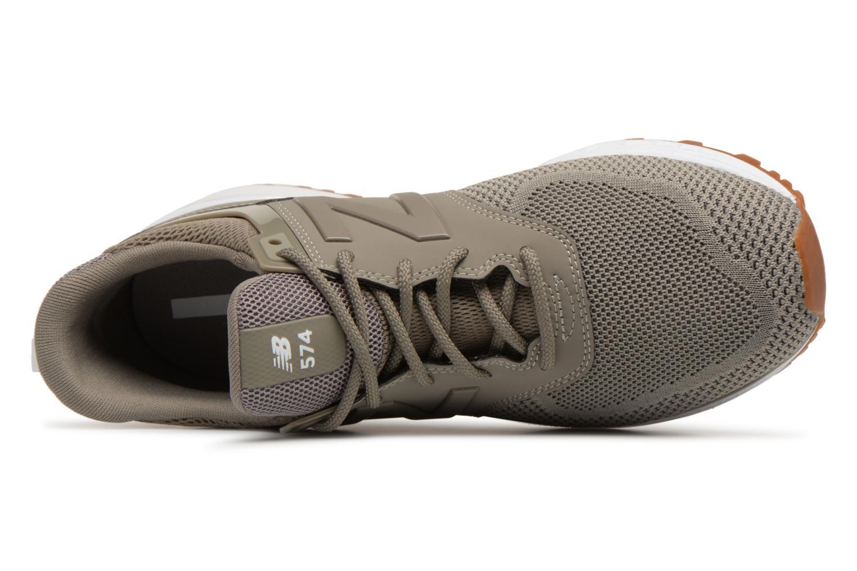 Sneakers New Balance MS574 Grijs links