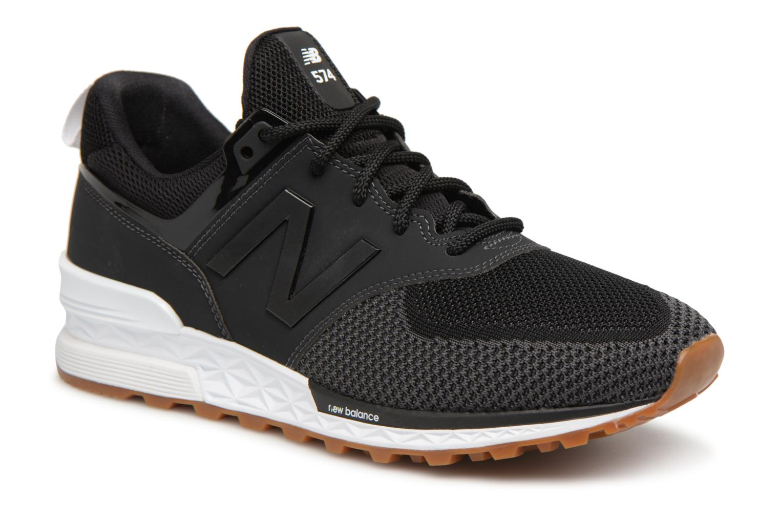 Sneakers New Balance MS574 Zwart detail