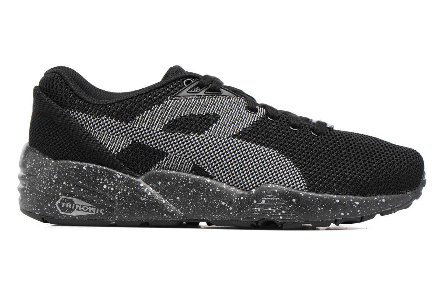 Sneakers Puma Trinomic R698 Knit Speckle W Nero immagine posteriore